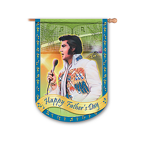 Elvis Presley Rockin' Through The Year Holiday Flag Collection: Elvis Home Decor