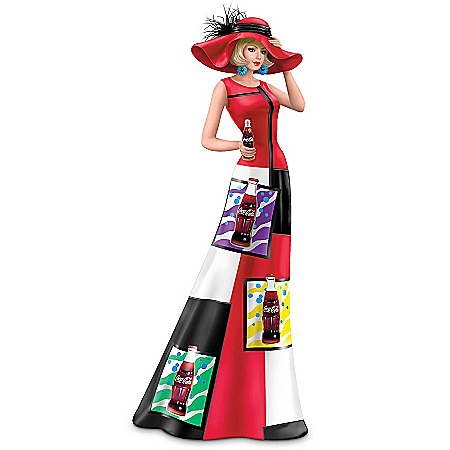 Coca-Cola Woman Figurine Collection: Life's Brighter With Coca-Cola