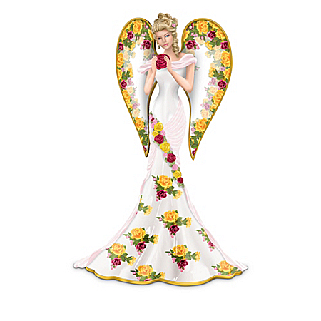 Angel Figurine Collection: Angelic Beauties Of The Country Rose Garden