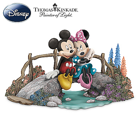 Thomas Kinkade Figurine Collection: Disney A Timeless Romance