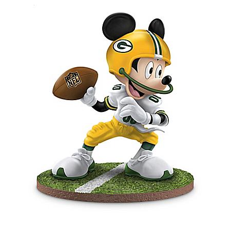 The Bradford Exchange Online - Disney NFL Green Bay Packers Figurine Collection: Football Fun-atics Photo