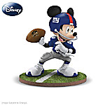 Disney NFL New York Giants Mickey Mouse Figurine Collection: Football Fun-atics 907776