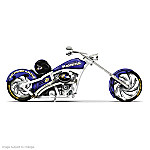 NFL Baltimore Ravens Motorcycle Figurine Collection