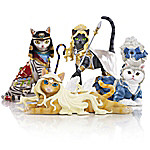 Divine Feline Cat Lover Figurine Collection
