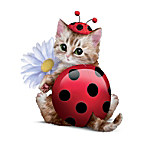 Cute As A Bug Cat Figurine Collection