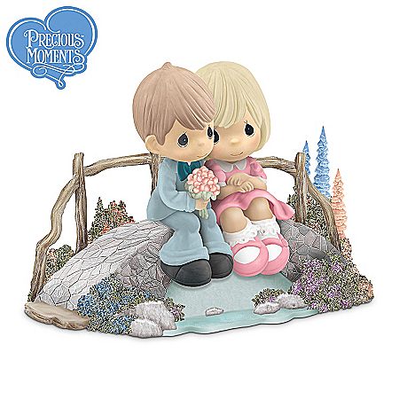 Thomas Kinkade Precious Moments Figurine Collection