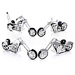 MLB Chicago White Sox Motorcycle Figurine Collection - Home Run Racer