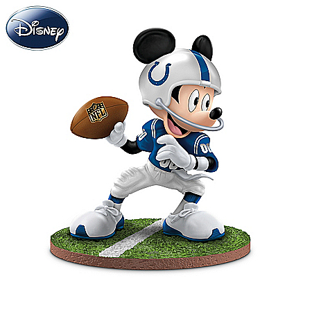 Disney NFL Indianapolis Colts Figurine Collection: Football Fun-atics