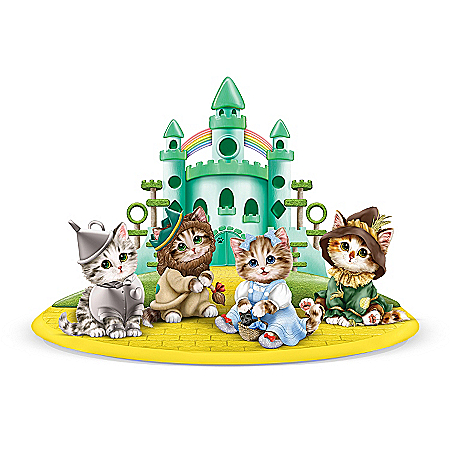 Figurine Collection: Kittens Of Oz