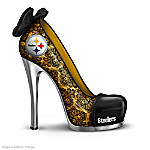 Shoe Figurine Collection: NFL Steelers To The Sole