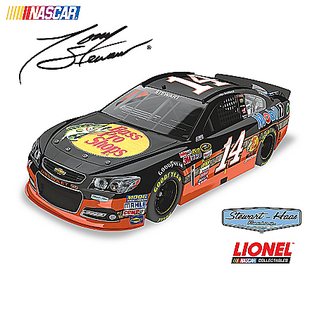 NASCAR 2013 Diecast Car Collection: Tony Stewart No. 14 Paint Schemes