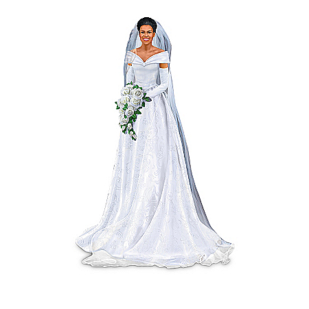 The Bradford Exchange Online - Michelle Obama, Classic Style Figurine Collection Photo