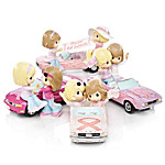 Ford Precious Moments Figurine Collection - On The Road To A Cure
