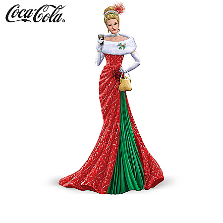 Figurine Collection: Christmas Elegance Of COCA-COLA