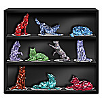 Figurine Collection - Rarest Gem Wolves Of The World