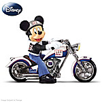 Disney Figurine Collection: Cruising The Open Road With Mickey And The New York GIants