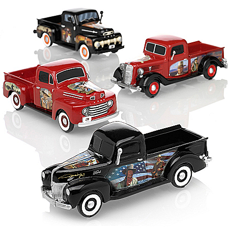 Ford Truck Sculptures: American Legend Sculpture Collection