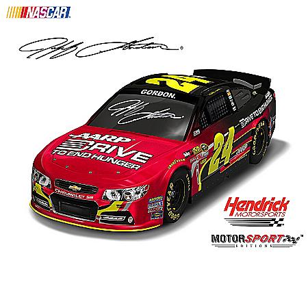 NASCAR Collectibles NASCAR Sculpted Car Collection: New Racing Horizons For Jeff Gordon