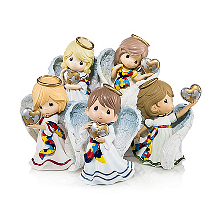 Figurines: Precious Moments Heavenly Blessings Figurine Collection