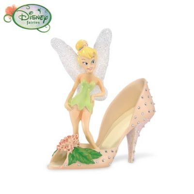 Tink's Garden Of Style Collectible Shoe Figurine Collection