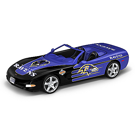 Car Sculpture Collection: Heartbeat Of The Baltimore Ravens