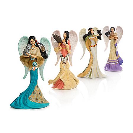 The Bradford Exchange Online - Figurines: Messengers Of The Spirit Figurine Collection Photo
