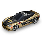 Car Sculpture Collection - Heartbeat Of The New Orleans Saints Sculpture Collection