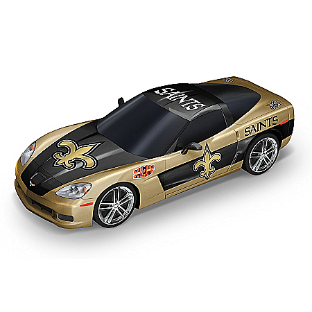 Car Sculpture Collection: Heartbeat Of The New Orleans Saints Sculpture Collection