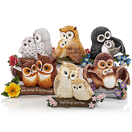 The Bradford Exchange Online - Figurines: You're Such A Hoot Figurine Collection Photo