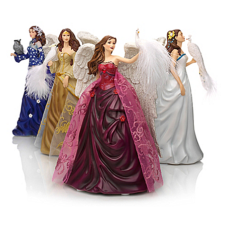 Figurines: Nene Thomas Angels Of Virtue Figurine Collection