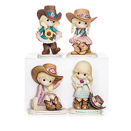 Figurines: My Granddaughter, My Darling Sweetheart Figurine Collection