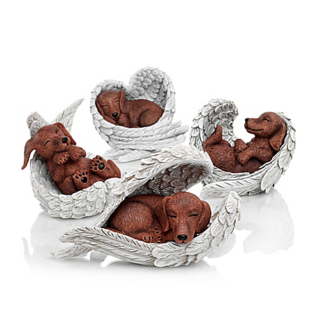 Figurines: Paw Prints From Heaven Figurine Collection