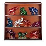 Figurines - Rarest Gem Elephants Of The World Figurine Collection