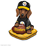 Figurines: Ruff And Tough Pittsburgh Steelers Figurine Collection
