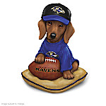 Figurines: Ruff And Tough Baltimore Ravens Figurine Collection