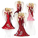 Figurines - Thomas Kinkade Sisters Of Heartfelt Promises Figurine Collection