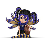 Figurines: Celebrating the Magic Of Baltimore Ravens Football Figurine Collection