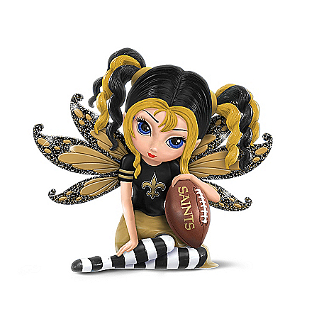 Figurines: Celebrating The Magic Of New Orleans Saints Football Figurine Collection