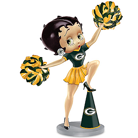 Figurines: Belle Of The Packers Handbell Collection