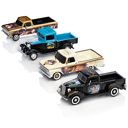Sculptures: Rollin' With Elvis Ford Trucks Sculpture Collection