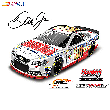 Diecast Cars: Dale Earnhardt Jr. No. 88 2014 Paint Schemes Diecast Car Collection