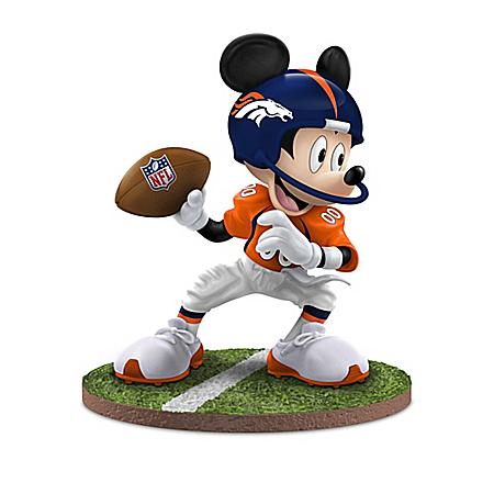 Figurines: Football Fun-atics Denver Broncos Figurine Collection