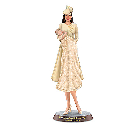 Figurines: The Royal Baby Blessing Figurine Collection