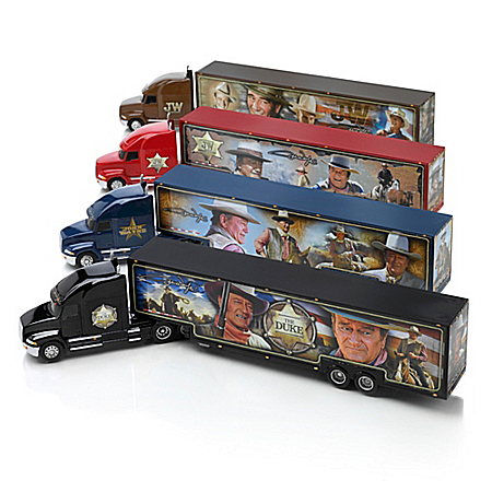 John Wayne Legend Of The Open Road 1:64-Scale Hauler Collection