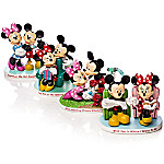 Disney Magical Moments Together With You - Mickey And Minnie Figurine Collection