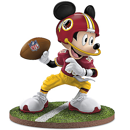 Figurines: Washington Redskins Football Fun-atics Walt Disney Figurine Collection