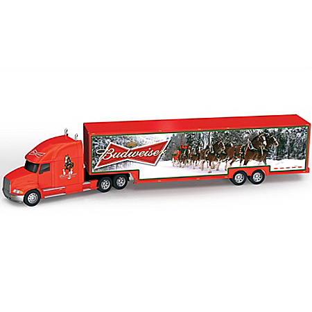 Budweiser Clydesdales Salute To The Seasons 1:64-Scale Hauler Collection