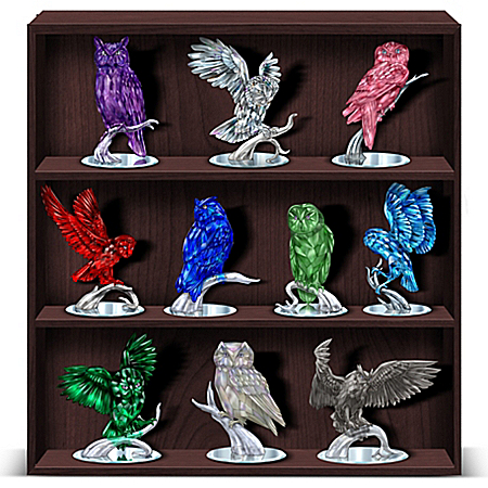 Figurines: Reflections Of The American Owl Figurine Collection