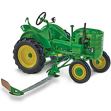 1:16-Scale John Deere Plows On Diecast Tractor Collection