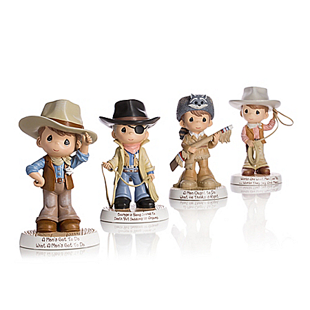 Precious Moments Tribute To John Wayne Figurine